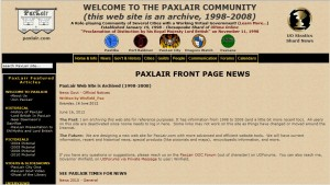 Old PaxLair Site