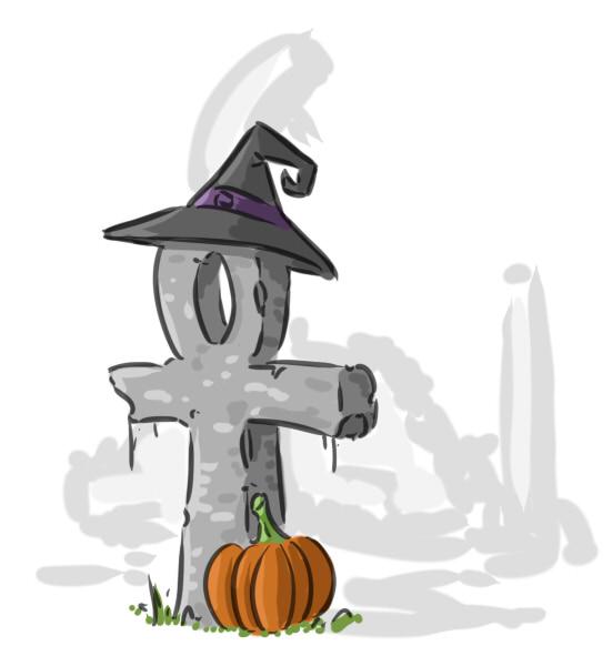 halloweenankh