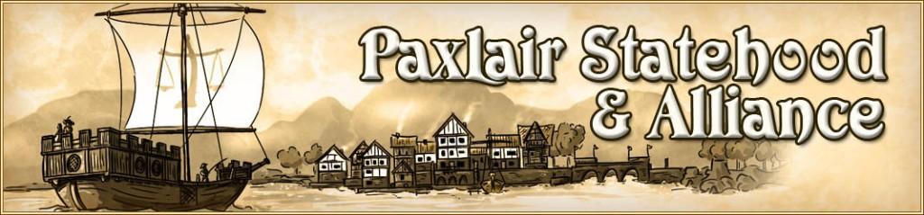 PaxLair Statehood and Alliance Kingsport (SotA) Banner (Feburary 10, 2014) Art by Ashlynn